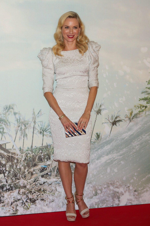 Naomi Watts en la premiére de 'Lo imposible'