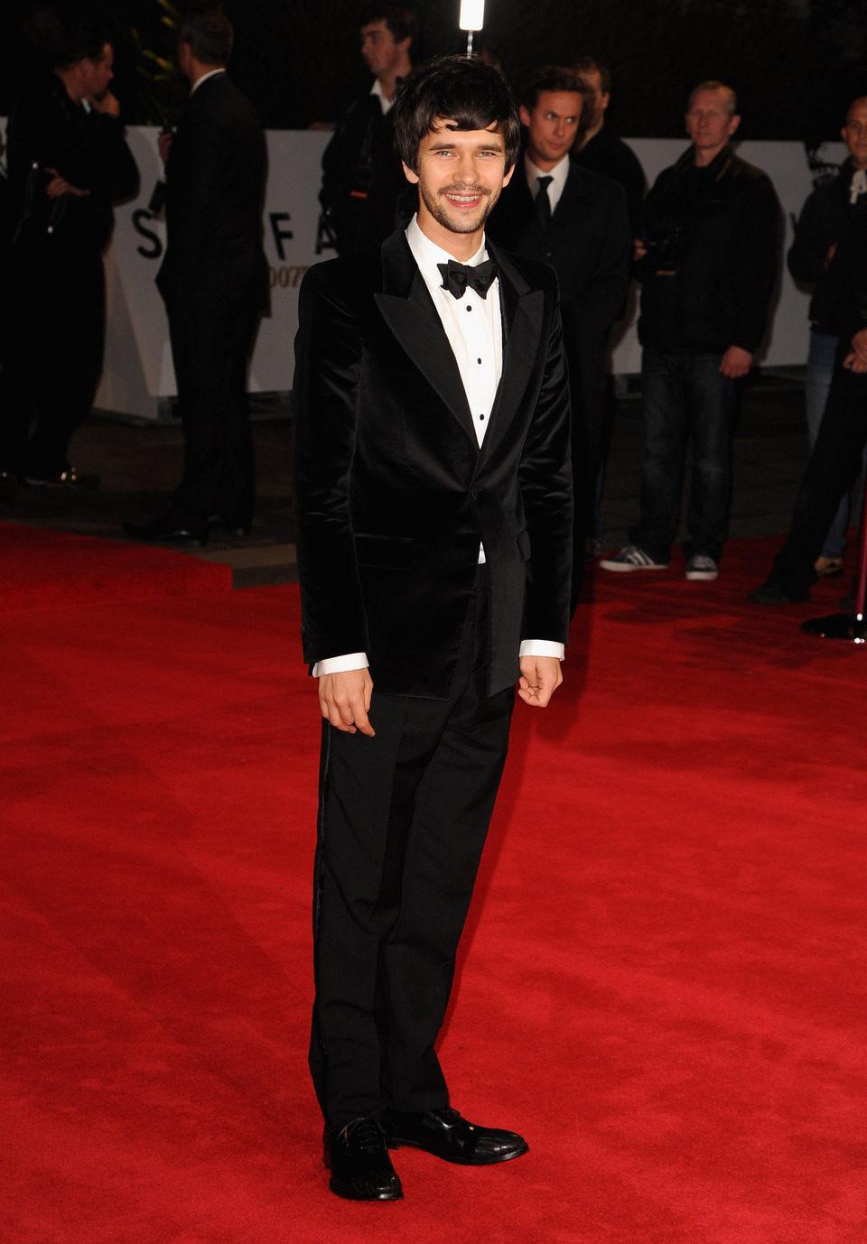 Ben Whishaw en la premiere mundial de 'Skyfall' en Londres
