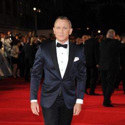 Daniel Craig en la premiere mundial de 'Skyfall' en Londres