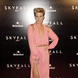 Tania Llasera en la premiere de 'Skyfall' en Madrid
