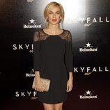 Kira Miró en la premiere de 'Skyfall' en Madrid