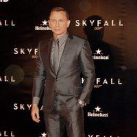Daniel Craig en la premiere de 'Skyfall' en Madrid