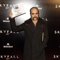 Luis Tosar en la premiere de 'Skyfall' en Madrid