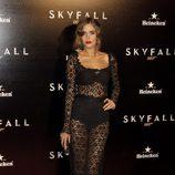 Clara Alonso en la premiere de 'Skyfall' en Madrid