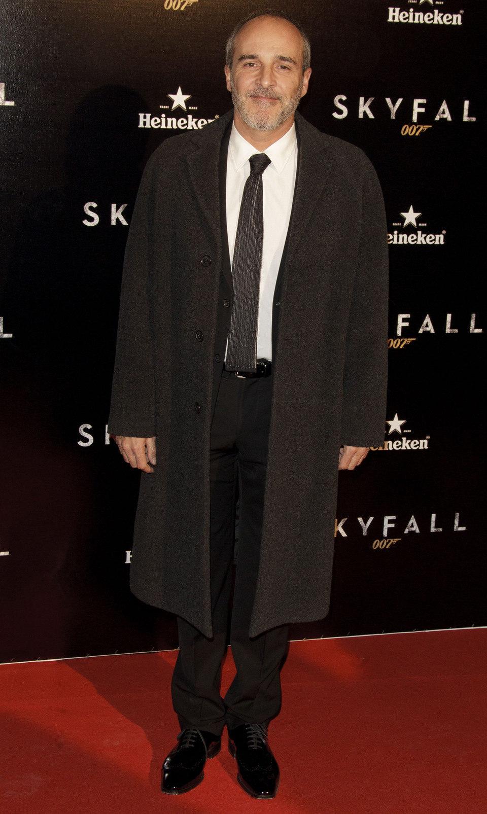 Fernando Guillén Cuervo en la premiere de 'Skyfall' en Madrid