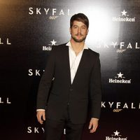Luis Fernández en la premiere de 'Skyfall' en Madrid
