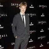 Eloy Azorín en la premiere de 'Skyfall' en Madrid