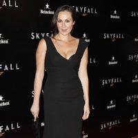 Ana Milán en la premiere de 'Skyfall' en Madrid