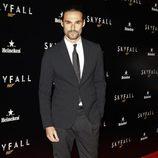 Iván Sánchez en la premiere de 'Skyfall' en Madrid
