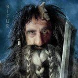 Póster de Bifur para 'El Hobbit: Un viaje inesperado'