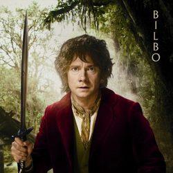 Póster de Bilbo para 'El Hobbit: Un viaje inesperado'