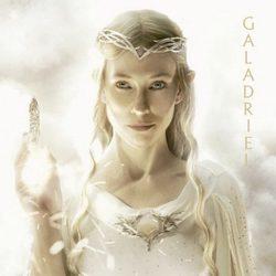 Póster de Galadriel para 'El Hobbit: Un viaje inesperado'
