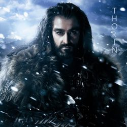 Póster de Thorin para 'El Hobbit: Un viaje inesperado'