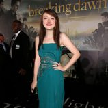 Dakota Fanning en el estreno de 'Amanecer. Parte 2' en Los Ángeles
