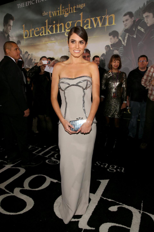 Nikki Reed en el estreno de 'Amanecer. Parte 2' en Los Ángeles