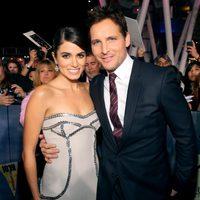 Nikki Reed y Peter Facinelli en el estreno 'Amanecer. Parte 2' en Los Ángeles