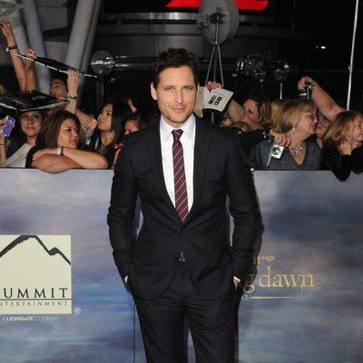 Peter Facinelli en el estreno de 'Amanecer. Parte 2' en Los Ángeles
