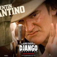 Póster de Quentin Tarantino en 'Django desencadenado'