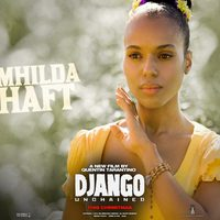 Póster de Broomhilda von Shaft en 'Django desencadenado'