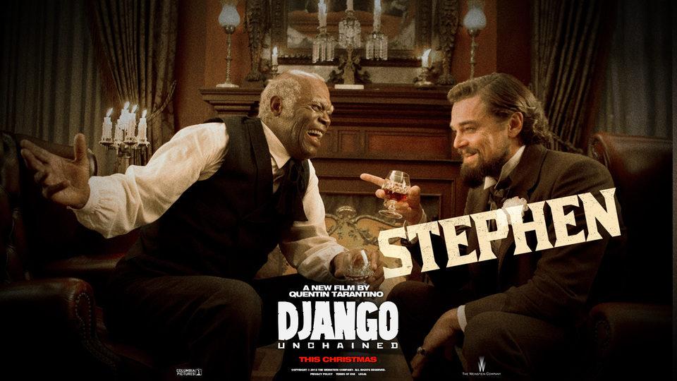 Póster de Stephen y Calvin Candie en 'Django desencadenado'