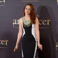 Kristen Stewart en la presentación en Madrid de 'Amanecer: Parte 2'