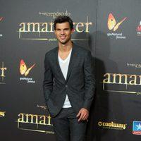 Taylor Lautner en el estreno en Madrid de 'Amanecer. Parte 2'