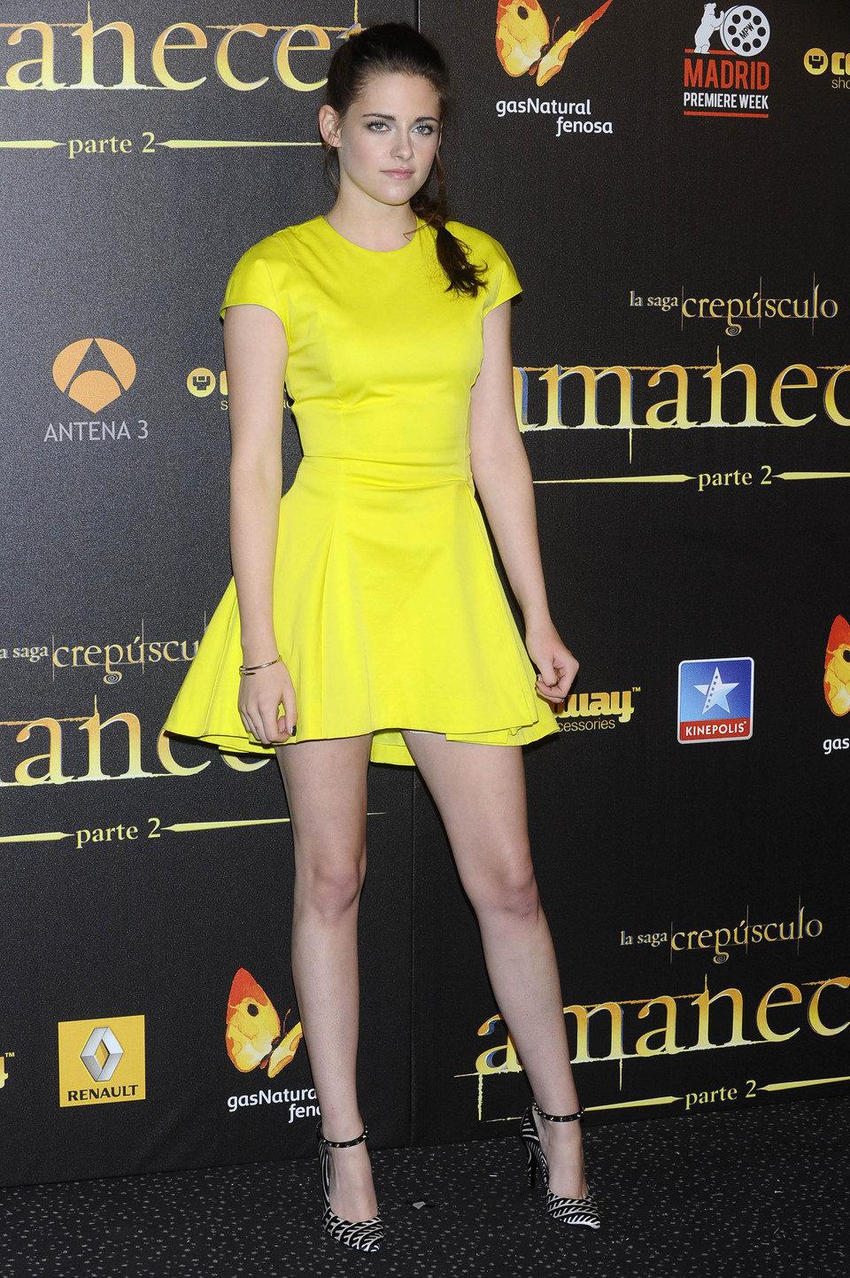 Kristen Stewart en el estreno en Madrid de 'Amanecer. Parte 2'