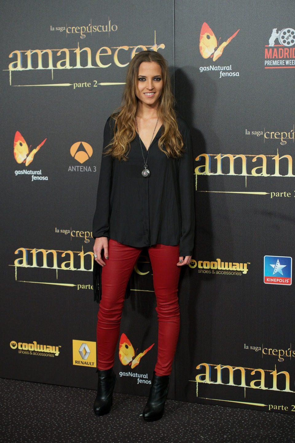 Ana Fernández García ana fernández garcía en el estreno en madrid de 'amanecer