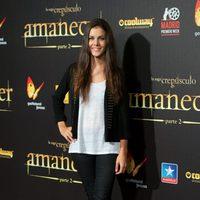 Sandra Blázquez en el estreno en Madrid de 'Amanecer. Parte 2'