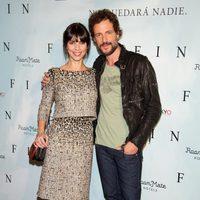 Maribel Verdú y Daniel Grao en la presentación de 'Fin' en Madrid