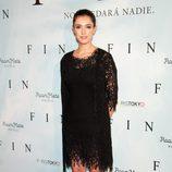 Blanca Romero en la presentación de 'Fin' en Madrid