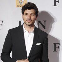 Andrés Velencoso en la première de 'Fin' en Madrid