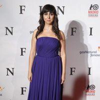 Carmen Ruiz en el estreno de 'Fin' en Madrid