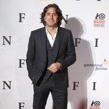 Antonio Garrido en el estreno de 'Fin' en Madrid
