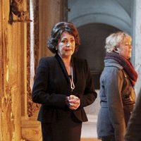 Carmen Maura en el rodaje de 'Las brujas de Zugarramurdi'