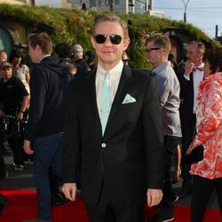 Martin Freeman en la premiere de 'El Hobbit: Un viaje inesperado' en Nueva Zelanda