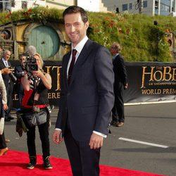 Richard Armitage en la premiere de 'El Hobbit: Un viaje inesperado' en Nueva Zelanda