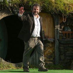Peter Jackson en la premiere de 'El Hobbit: Un viaje inesperado' en Nueva Zelanda