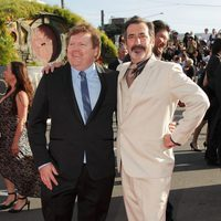 Stephen Hunter y William Kircher en la premiere de 'El Hobbit: Un viaje inesperado' en Nueva Zelanda