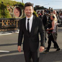 Andy Serkis en la premiere de 'El Hobbit: Un viaje inesperado' en Nueva Zelanda