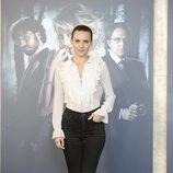 Aura Garrido en la presentación de 'El cuerpo' en Madrid