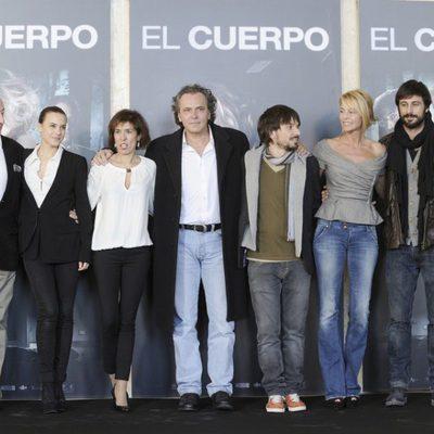 El equipo de 'El cuerpo' presenta la película en Madrid