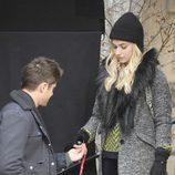 Zac Efron y Imogen Poots en el rodaje de 'Are We Officially Dating?'