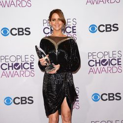 Jennifer Lawrence en la gala de los People's Choice Awards 2013