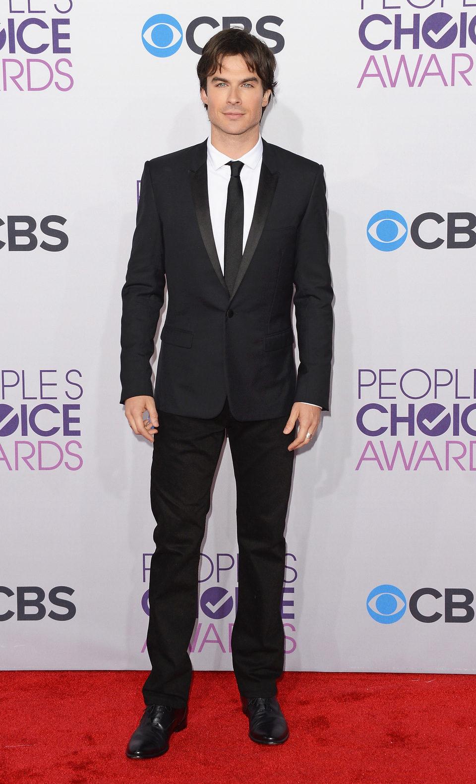 Ian Somerhalder en la gala de los People's Choice Awards 2013