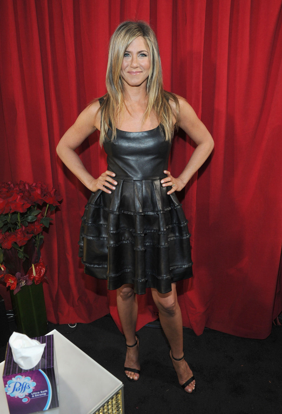 Jennifer Aniston en la gala de los People's Choice Awards 2013