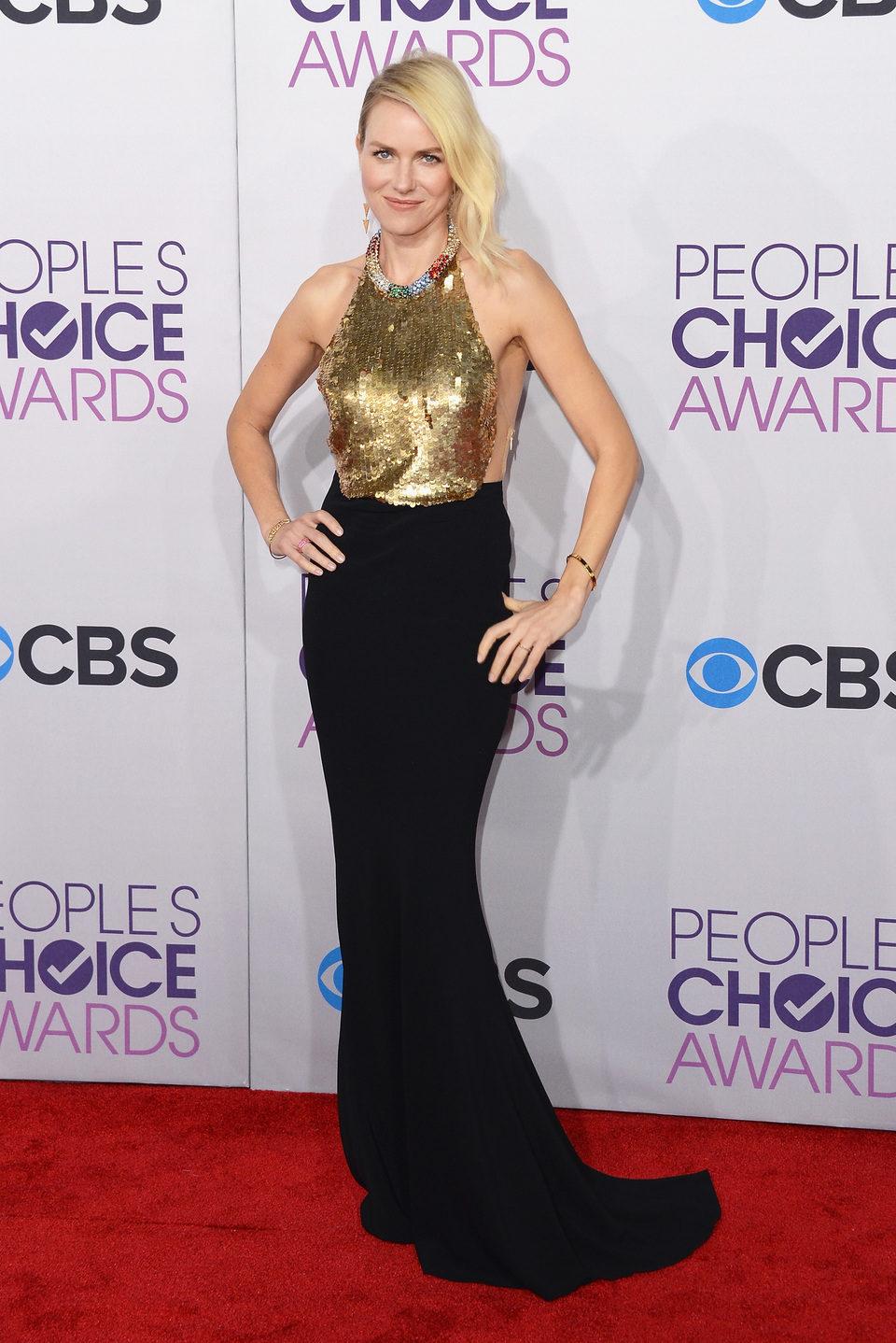 Naomi Watts en la gala de los People's Choice Awards 2013