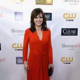Sally Field en la gala de los Critics' Choice Movie Awards 2013