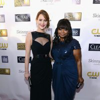 Jennifer Lawrence y Octavia Spencer en los Critics' Choice Movie Awards 2013