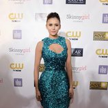Nina Dobrev en la gala de los Critics' Choice Movie Awards 2013